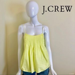 EUC - J Crew - Neon Yellow Tank - Size 8